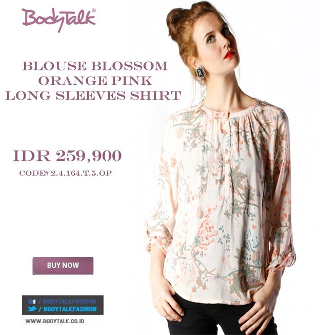 Blouse on your daily activities why not put this one Ladies IDR 259,900 >> http://ow.ly/vxCQw