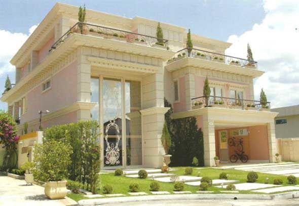 Fachada de casas cl ssicas 003 cl ssico fachadas de for Casa moderna classica
