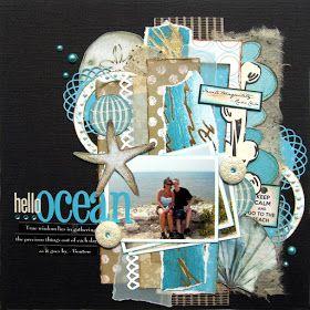 Little Scraps of Magic: Hello, Ocean {CSI Case File No. 32}
