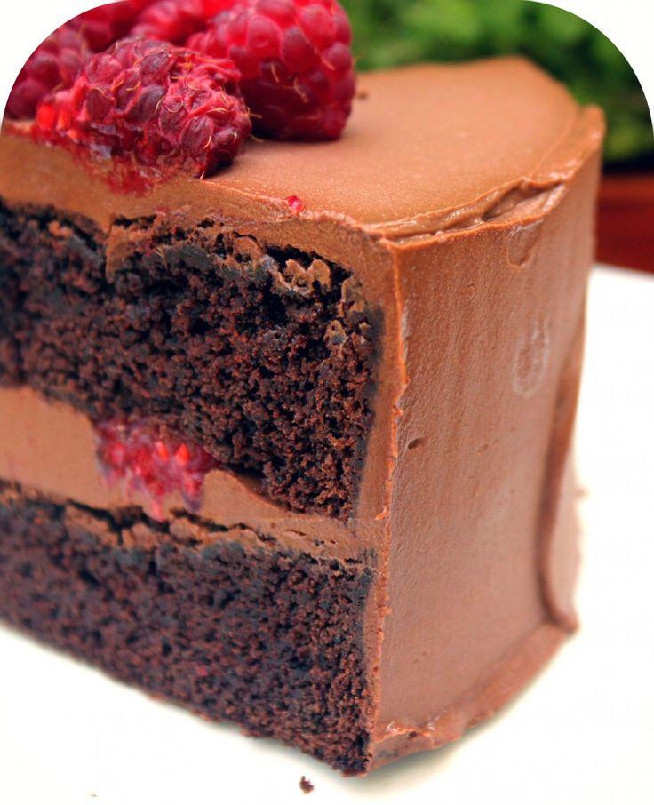 #layercake chocolat framboise 6