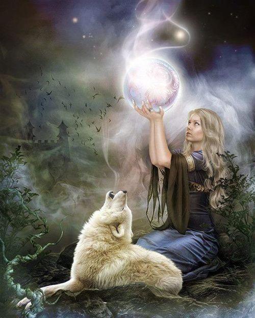 White Wolf Magic