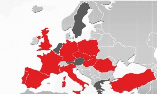Siamo autorizzati ad operare nei seguenti paesi dai rispettivi organi finanziari di controllo.