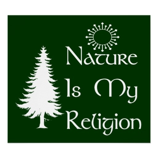 Natural Religion Poster from Zazzle