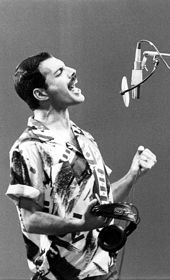 Freddie Mercury...QUEEN, no one's voice even comes close to Freddie's
