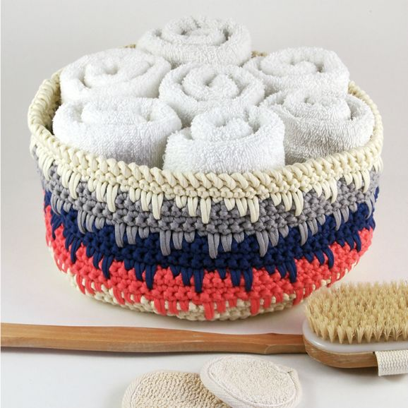 Himalayan Basket: #12WeeksChristmasCAL Week 2 #crochet #patternparadisecrochet