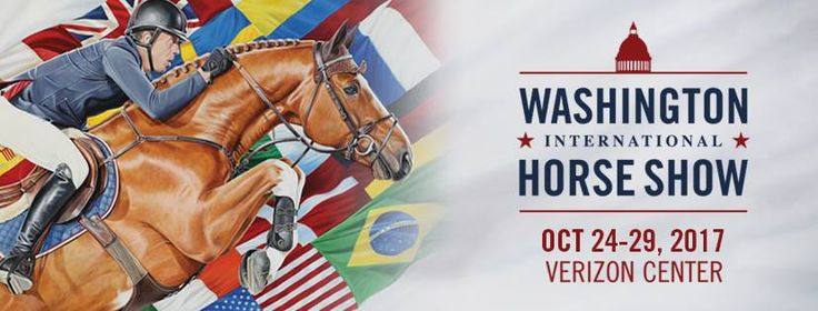 You don't wanna miss out! The Washington Horse Show will be at the Verizon Center October 24-29.