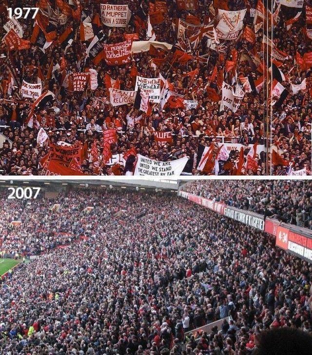 Old Trafford...