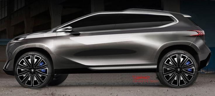 Peugeot Urban Crossover Concept - Design Sketch