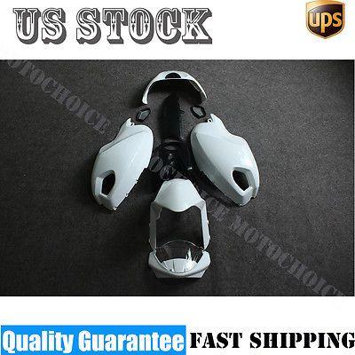 Unpainted Fairing for Ducati Monster 696 796 1100 1100S EVO 09-14 Plastic Kits