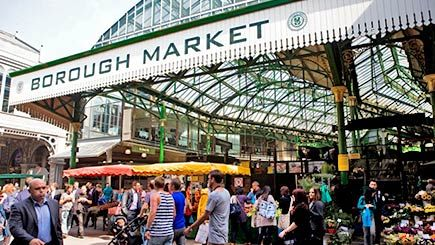 Lots of great food stalls to explore within Borough Market! Would recommend coming here if you're doing an East London day. Its close to the City and Tower Bridge.