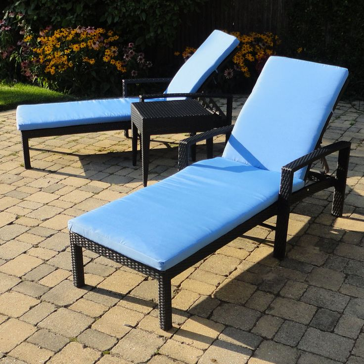 22 best images about great outdoor wicker patio furniture for Black outdoor wicker chaise