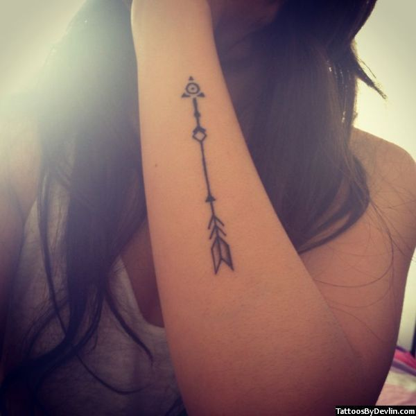 Belagoria: Tatuajes de flechas , ideas y su significado