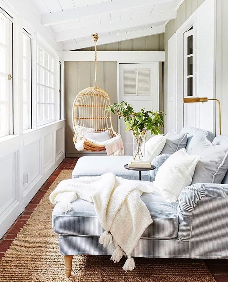 """2,819 Likes, 45 Comments - Serena & Lily (@serenaandlily) on Instagram: """"Sunroom goals, courtesy of @bannerdaysf. Photo by @colinprice. #serenaandlily #designerseries…"""""""