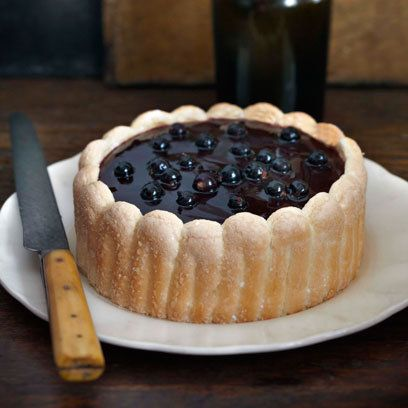 Fabulously French: French Food Friday...Raymond Blancs Blackcurrant Charlotte