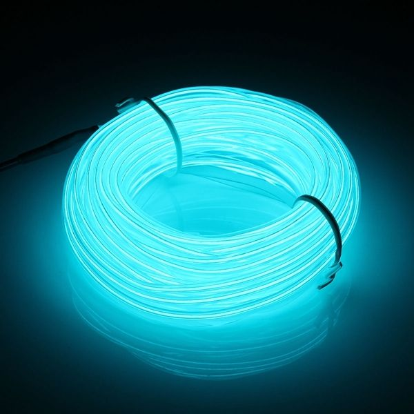 5m Led Strip Light Flexible Soft Tube Wire Neon Glow Dc 12v Light Blue Strip Lighting Blue Light Bulb Neon Glow