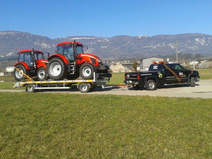 Haulin Zetor tractors