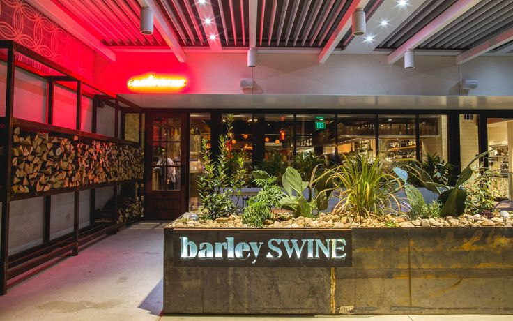 Texas: Barley Swine   These 51 restaurants go way beyond farm-to-table—with responsible ingredient sourcing, a focus on local purveyors, and even electric car chargers, they're changing the world for the better. Read on.