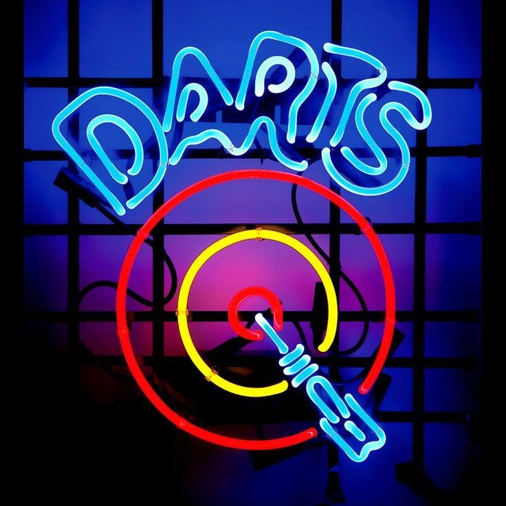 neon signs cool dart board sale bar game man room darts table cave df nights