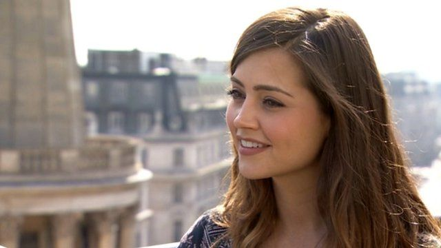 Doctor Who's latest companion is unveiled, Jenna-Louise Coleman speaks to the BBC's Lizo Mzimba