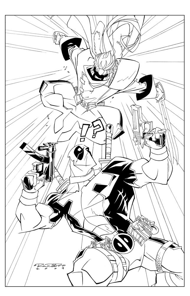 77 best Lineart: Deadpool images on Pinterest | Consorcio inactivo ...