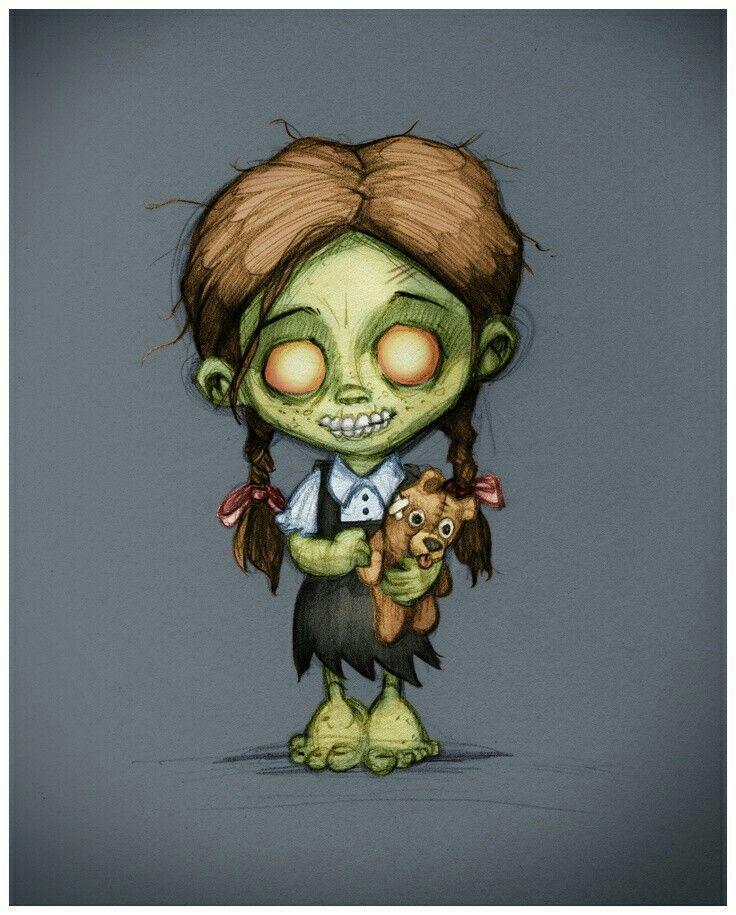 Pin By Jenette Reimer Medley On Zombie Zombie Cartoon Creepy