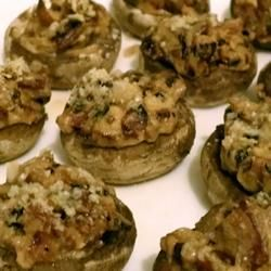 Mouth-Watering Stuffed Mushrooms Recipe - Allrecipes.com | Dip and ...