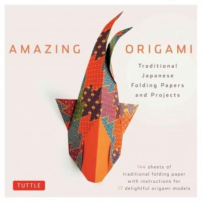 Origami paper with stunning Japanese traditional prints and fun and simple folding instructions! Amazing Origami Kit is designed for origami paper folders of all ages and all skill levelsfrom novices