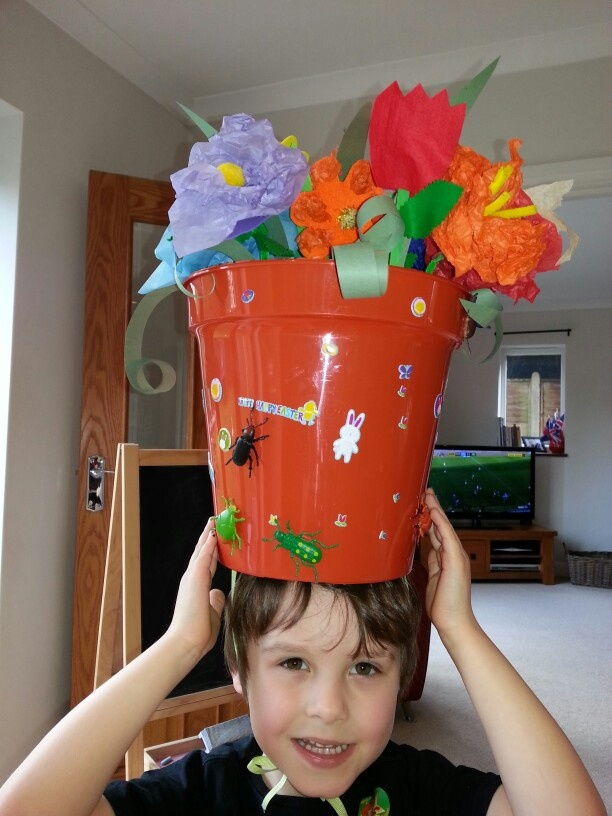 Easter Hat for school competition
