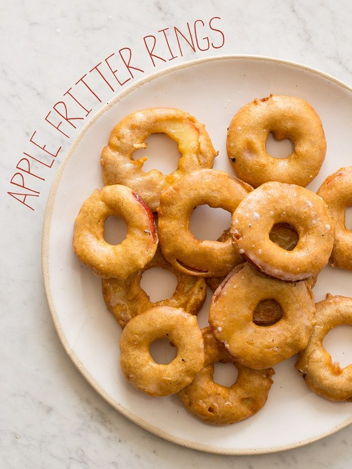Apple Ring Fritters - There are all kinds of fritter recipes on this ...