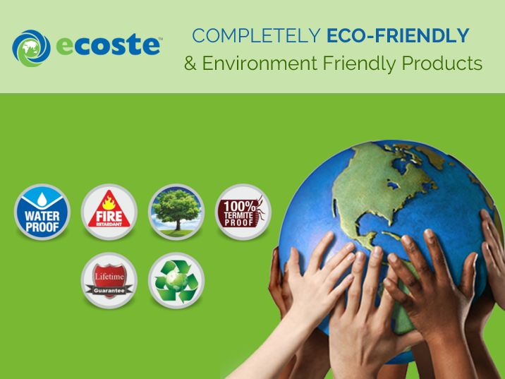 With Superior #Technology & Experienced Professionals, we at Ecoste ensure #Quality and Certified products - http://www.ecoste.in