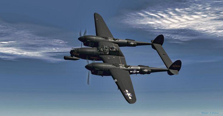 P-38M Night Fighter print.