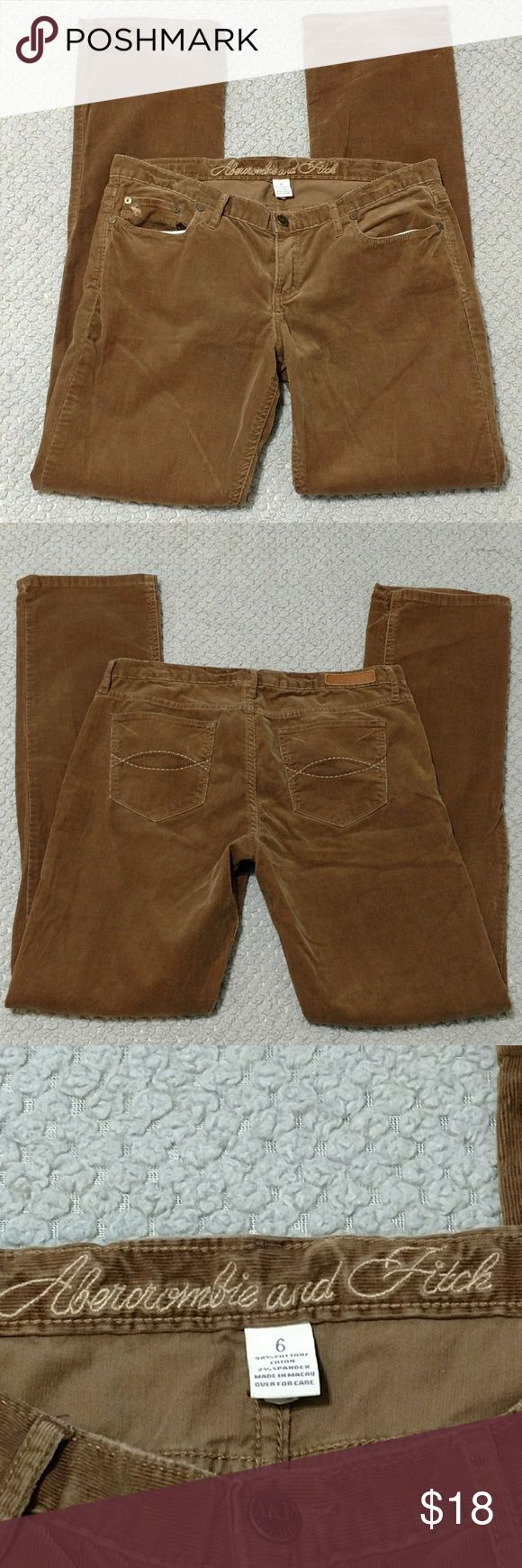 Abercrombie Fitch pants Brown Abercrombie Fitch pants Abercrombie & Fitch Pants
