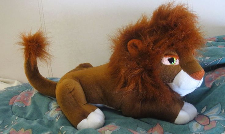 "13"" Chocolate Brown ""Adult Kovu"" Look-Alike Lion Plush by Plush Appeal LLC"