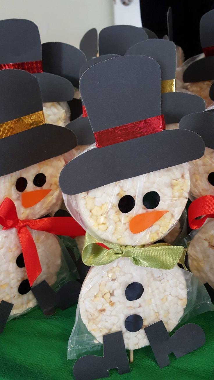 Cute Snowman Treat Idea