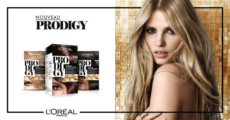 Coloration Prodigy by L'Oréal Paris. #LaraStone #hair