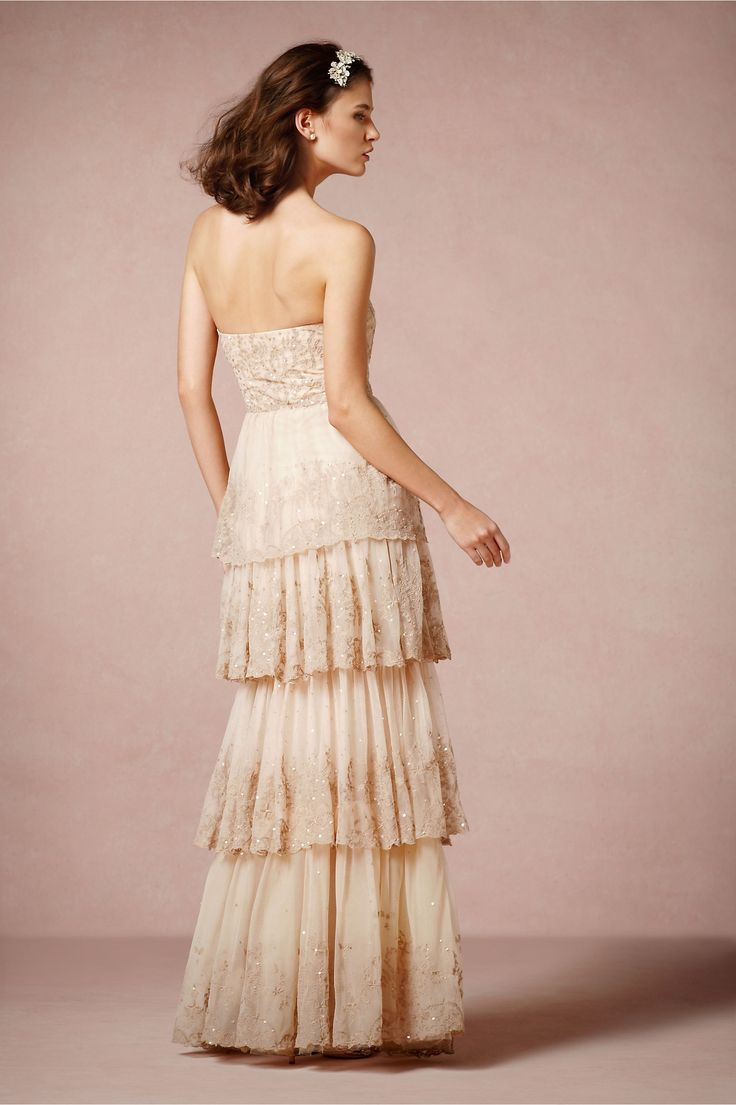 antique wedding dress uk%0A Rosecliff Gown from BHLDN  Wedding Dress SimpleVintage