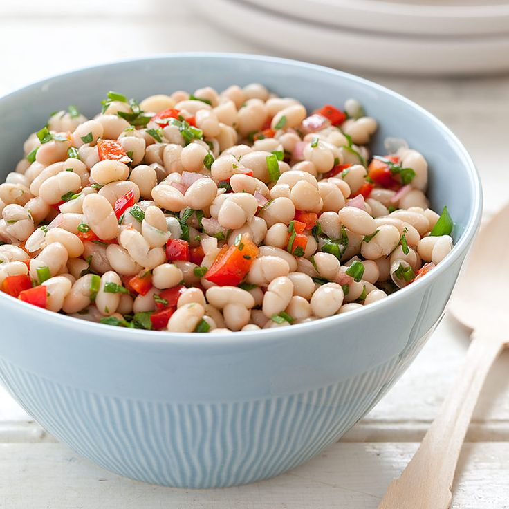 white bean salad with tomatoes and olives recipe. Black Bedroom Furniture Sets. Home Design Ideas