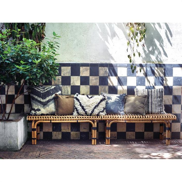 Rattan Bench • WOO Design