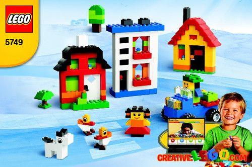 Lego LEGO® Creative Building Kit 5749 - Lego® Creative Building Kit 5749 Bi 3002/16 - 5749 V140 - 1