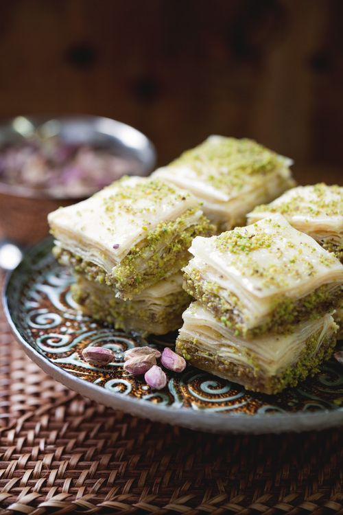 Pistachio Baklava | Aissa Sweets