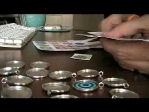 ▶ Video tutorial per realizzare gioielli in resina (prima parte) - YouTube