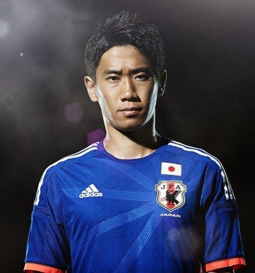 Detail Jersey Jepang Home Piala Dunia 2014 Terbaru - Jepang dan Adidas telah secara resmi merilis Jersey Home yang akan digunakan pada Piala Dunia 2014 di Brazil. Jersey Timnas Jepang kali ini masih didominasi dengan warna biru, sedangkan pada bagian
