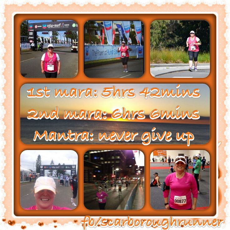 Mantra: Never give up
