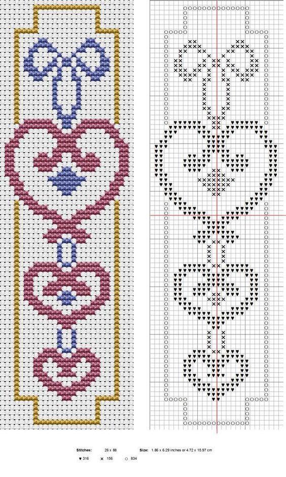Points de croix *<3* Cross stitch: