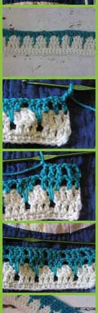 How To Crochet The Larks Foot Stitch - Great