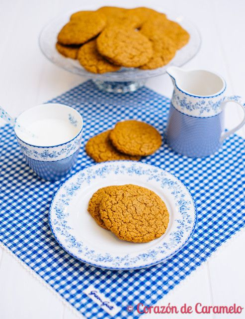 Galletas de avena integral