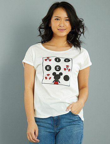 Maglietta maniche corte 'Topolino'                                                                                                                 IMP Donna   - Kiabi