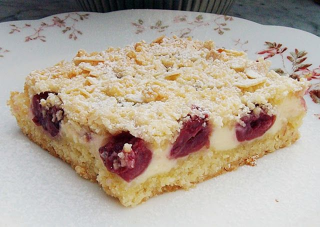 111 best cherry cake kirsch kuchen images on pinterest petit fours desert recipes and. Black Bedroom Furniture Sets. Home Design Ideas