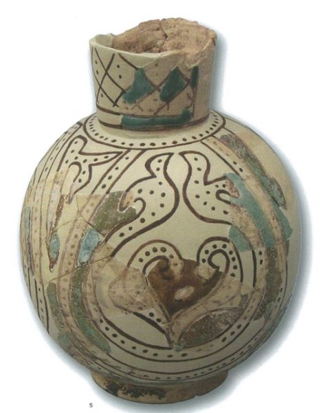 12th century #ceramics #pitcher - Alcáçova do Castelo de Mértola
