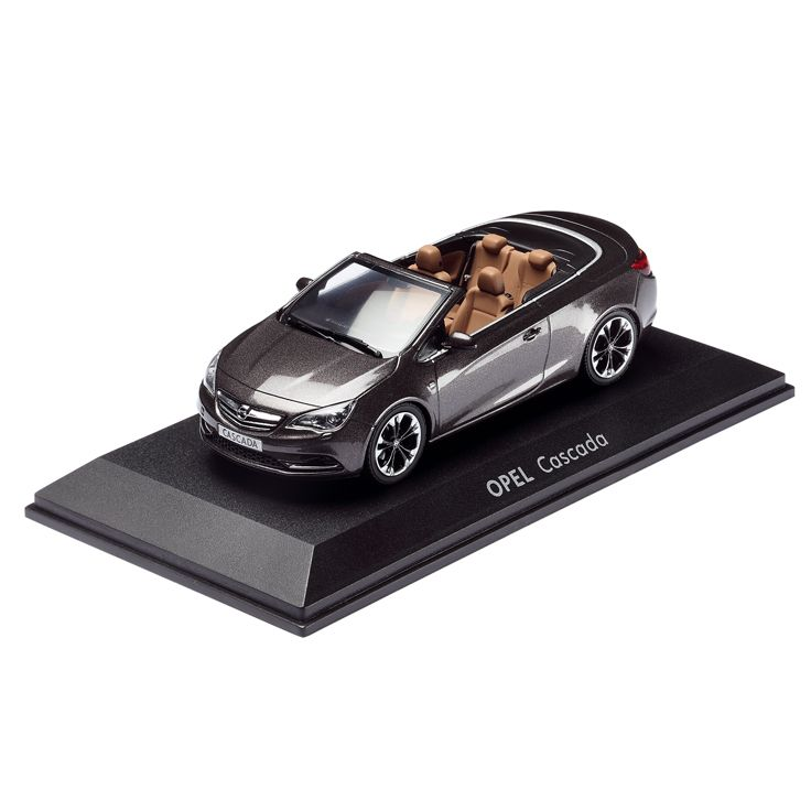 """http://www.opel-collection.com/Model-Cars/Opel-CASCADA-1-43-Asteroid-Grey::197.html  How about a slick Cascada model in """"asteroid grey""""?"""